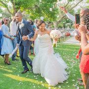 bouquet, confetti, dress, suit