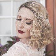 hair, makeup, veil