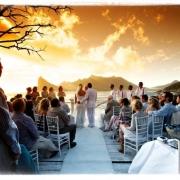 ceremony, outdoor ceremony, outside ceremony, sea
