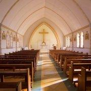 aisle, chapel