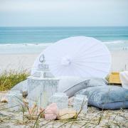 beach, decor