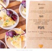 food, menu, stationery