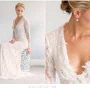 earrings, wedding dress